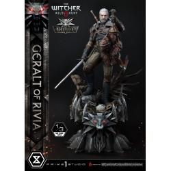 Witcher 3 Wild Hunt Statua 1/3 Geralt of Rivia Deluxe Version 88 cm