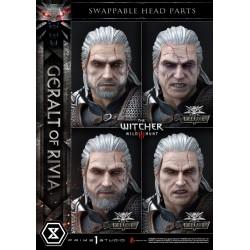 wymienne głowy Geralt z Rivii Deluxe Version 88 cm