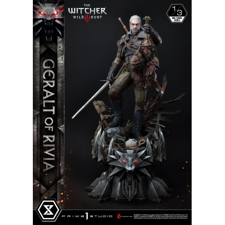 Witcher 3 Wild Hunt Statua 1/3 Geralt of Rivia 88 cm