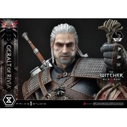 Wiedźmin 3 Dziki Gon Figura 1/3 Geralt z Rivii 88 cm Prime 1 Studio
