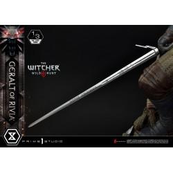 Wiedźmin 3 Dziki Gon Figura 1/3 Geralt z Rivii 88 cm