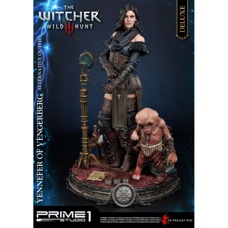 Witcher 3 Wild Hunt Statue Yennefer of Vengerberg Alternative Outfit Deluxe Version 51 cm
