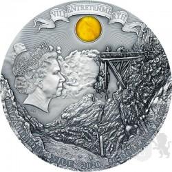 moneta kolekcjonerska 50$ wiedźmin miecz przeznaczenia rewers