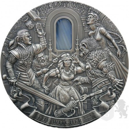 srebrna moneta kolekcjonerska wiedźmin