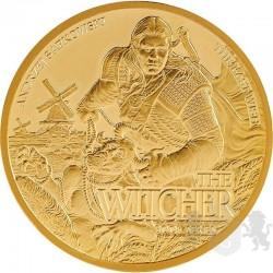 złota moneta wiedźmin