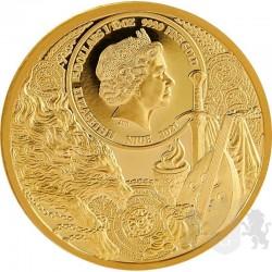 złota moneta wiedźmin mennica gdańska 15$