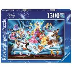 Puzzle 1500 el. Magiczne bajki - Disney