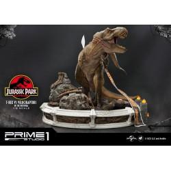 jurassic park statua t.rex