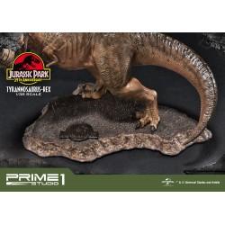 Postawa statuy t-rex