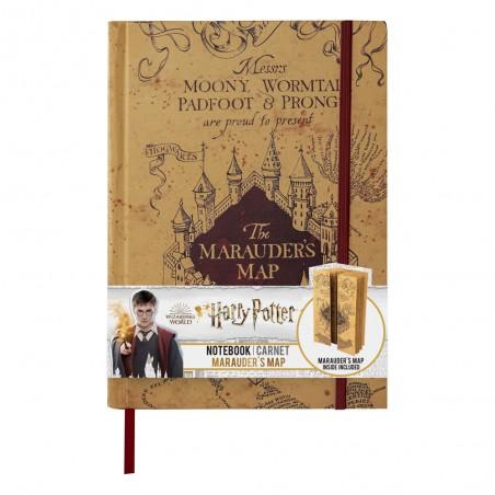 Zeszyt A5 Mapa Huncwotów z małą mapą mini replika - Harry Potter