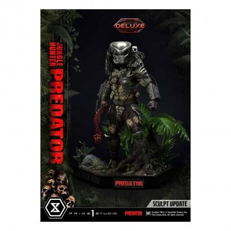 Statua Jungle Hunter Predator Museum Masterline Deluxe Bonus Version 1/3 90 cm - Predator