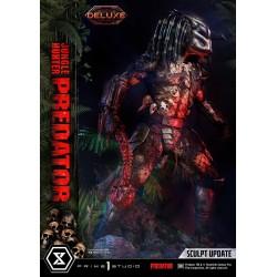 Statua Jungle Hunter Predator Museum Masterline Deluxe Bonus Version 1/3