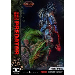 Statua Jungle Hunter Predator Museum Masterline Deluxe Bonus Version